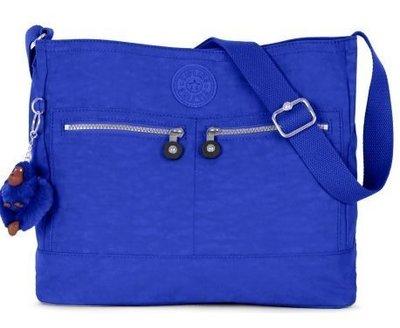 Kipling** HB6778**全新正品藍色肩/斜背兩用包 (有現貨)