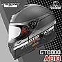ASTONE 安全帽 GTB800 AO10 消光黑銀 內鏡 ...