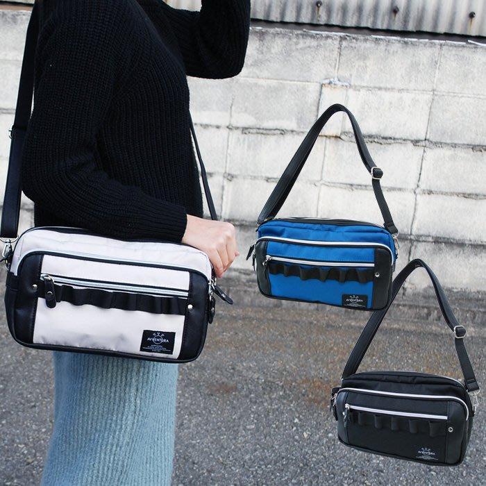 【Mr.Japan】日本限定 AVVENTURA 肩背 側背包 小包 隨身 中性 方便 黑 藍 白 預購款