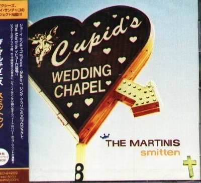 (甲上唱片) THE MARTINIS - SMITTEN - 日盤+5BONUS