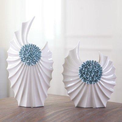 〖洋碼頭〗歐式現代簡約時尚陶瓷花瓶樣板房客廳家居酒櫃裝飾品結婚禮物擺件 bhm130