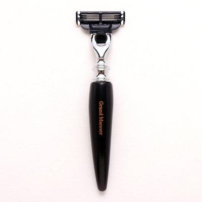 英國 Grand Manner 皇家系列 刮鬍刀(璽黑牛角 / 鋒速3 Mach3)送禮 禮物