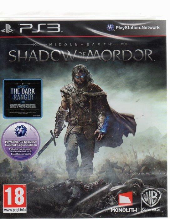 PS3遊戲 中土世界 魔多之影 Middle-earth Shadow of Mordo 英文版【板橋魔力】