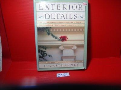 【愛悅二手書坊 22-02】《Exterior Details》1990-Innes-ISBN:0671725769