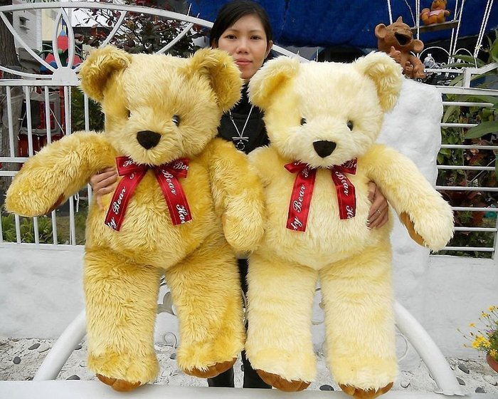 高雄娃娃屋~超大泰迪熊娃娃~高90公分~泰迪熊玩偶~生日禮物~情人節禮物~全省宅配