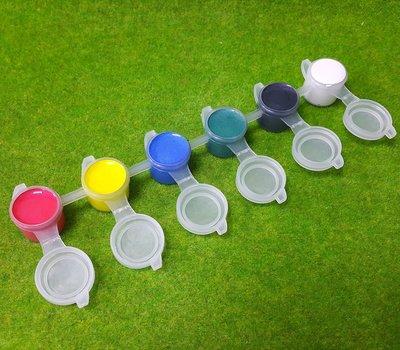 【五旬藝博士】 壓克力顏料條 3ML 珠光色 6色組 一組一條 珠光壓克力 歡迎大量訂購