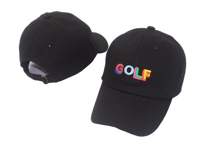 FIND 韓國品牌棒球帽 男女情侶 時尚街頭潮流 GOLF字母刺繡 帽子 太陽帽 鴨舌帽 棒球帽
