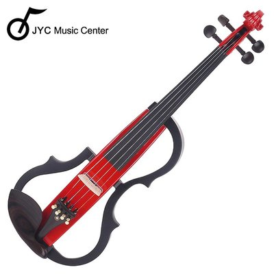 JYC Music JYC SV-150S靜音提琴(紅色)~雙輸出/三段EQ