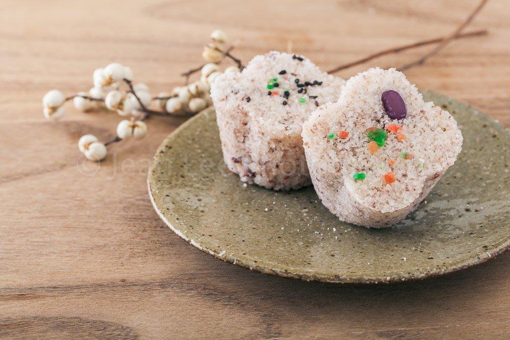 合興壹玖肆柒 紅豆豆沙鬆糕+芝麻鬆糕組合 鬆糕