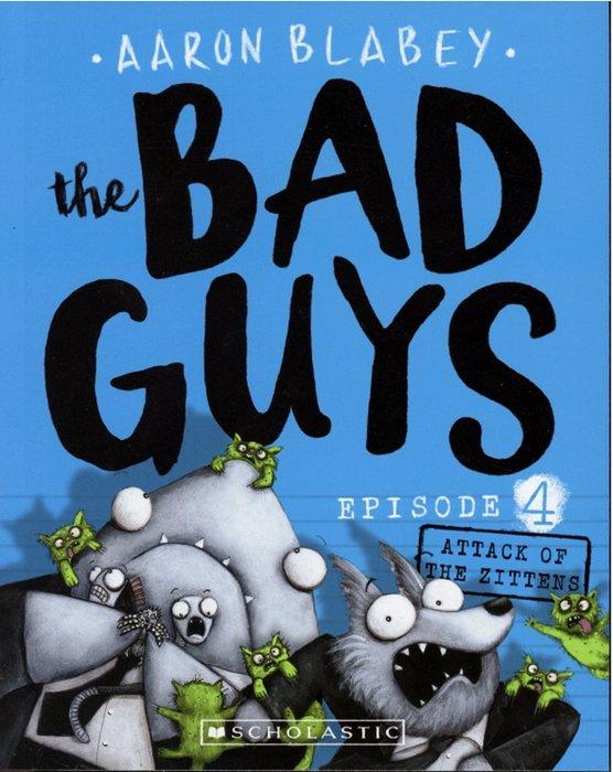 *小貝比的家*THE BAD GUYS#4: ATTACK OF THE ZITTENS/平裝書/7~12歲