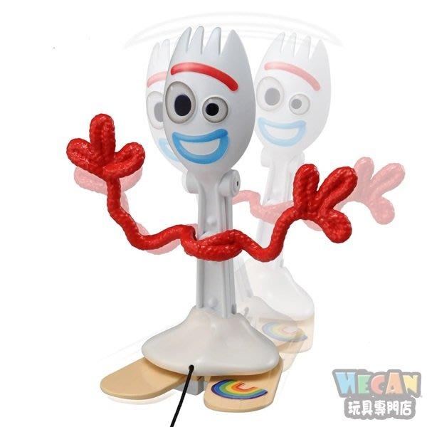 DISNEY迪士尼 玩具總動員4 搖擺走路叉奇Forky (TAKARA TOMY) 13100