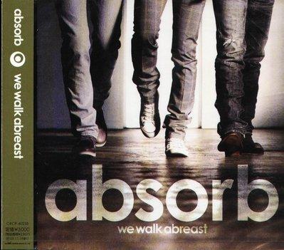 K - absorb - we walk abreast - 日版 - NEW