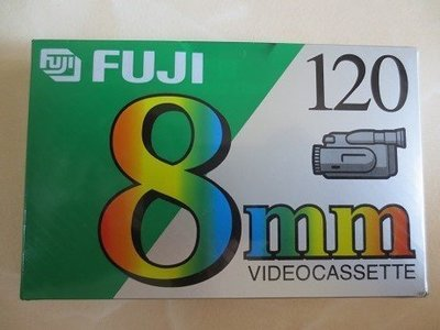 FUJI攝影機 8mm空白帶  120min JAPAN 原廠 桃園市