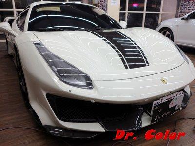 Dr. Color 玩色專業汽車包膜 Ferrari 488 Pista Spider 車燈保護膜