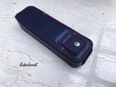 =小品雅集=美國 Esterbrook Double Pen Nook 2支裝筆盒(海軍藍)