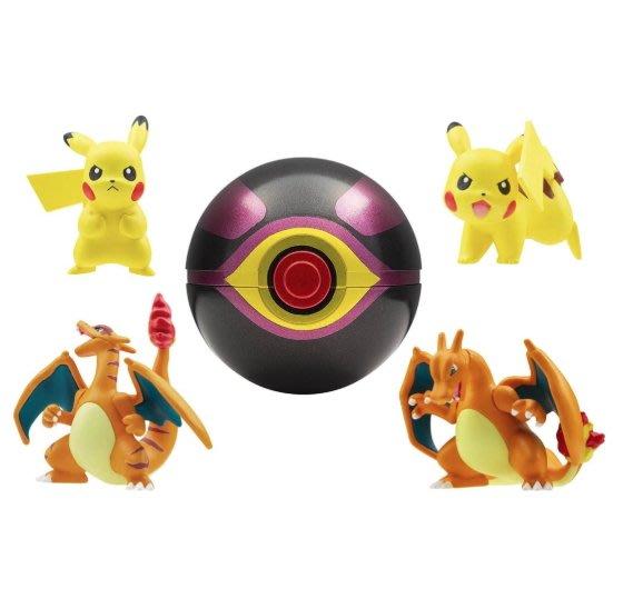 《FOS》 2019新款 日本 寶可夢 超夢的逆襲 EVOLUTION 公仔 神奇寶貝 皮卡丘 噴火龍 精靈球 玩具