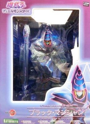 日本正版 壽屋 ARTFX J 遊戲王 怪獸之決鬥 黑魔導 1/7 公仔 模型 日本代購