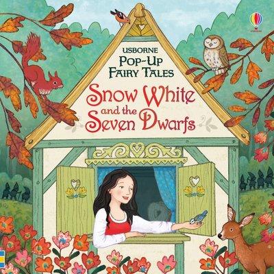 *小貝比的家*POP-UP FAIRY TALES SNOW WHITE AND THE SEVEN DWARFS