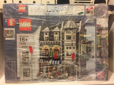 LEGO 10185 Origin Box Used(淨外盒)