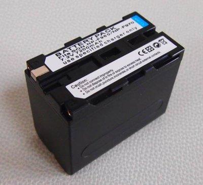 ~阿翔小舖~LED燈用 副廠SONY NP-F970鋰電池 7200mAh超高容量/YN300 YN600 YN900用