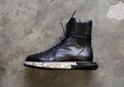 歐美 高端訂製鞋 真皮  厚底 長筒 靴 GD BG