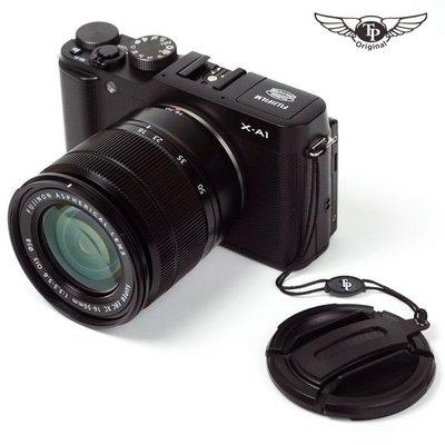 富士XT30 XT4 XPRO3 XT200 XT3 16-50/18-55鏡頭蓋防丟繩真皮皮貼