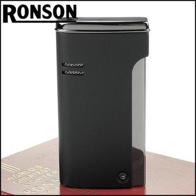 ☆哈洛德小舖☆全新【RONSON】RONJET系列-瓦斯噴射打火機-銷光黑款 NO.R29-0003