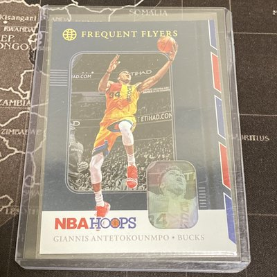 Giannis Antetokounmpo 19/20 Hoops Frequent Flyers #3 Holo