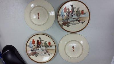 大世紀 古董店˙˙˙日本˙˙明治˙˙薩摩燒˙˙杯碟組