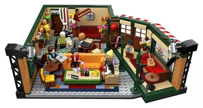 LEGO21319創意美劇老友記咖啡館男孩女孩拼搭積木玩具禮物