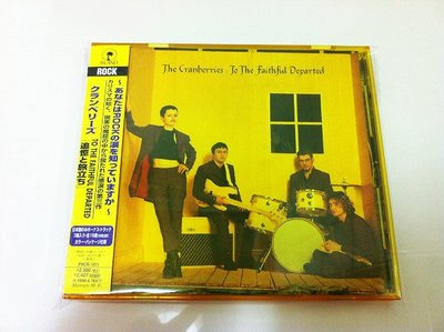 THE CRANBERRIES(小紅莓合唱團).To The Faithful Departed.日本版.附側標