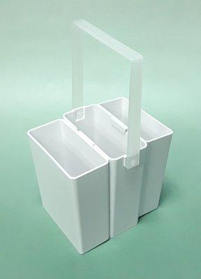 【五旬藝博士】三合一 洗筆盒 組合式 耐用 方便 輕巧 好攜帶 品質好 台灣製造-LH