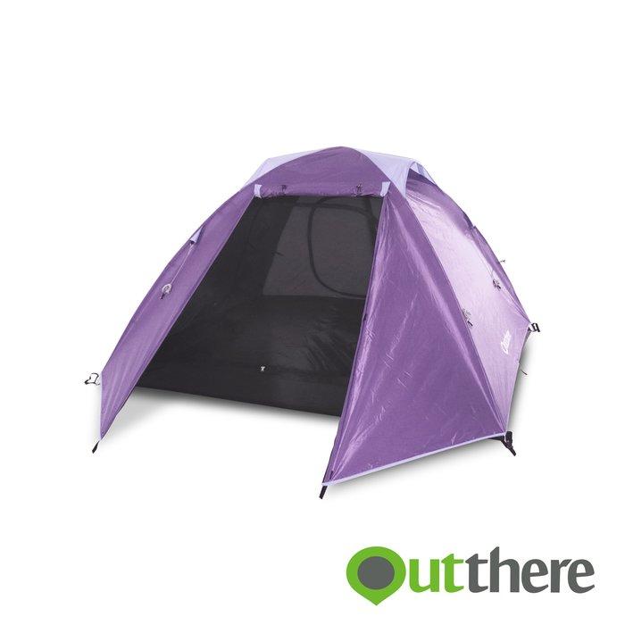【綠色工場】輕營4人帳 LiteBase4 (紫色)