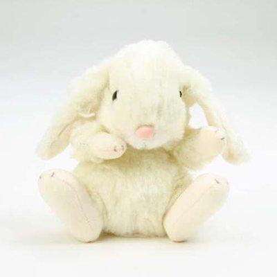☆薇菈日本精品☆預購日本製STAR CHILD 垂耳兔 兔子 娃娃 絨毛 玩偶  白黃色
