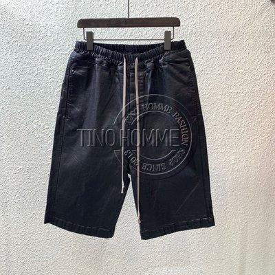 《TINO HOMME》2019春夏新款自主品牌 RICK HOMME RO DS塗層修身牛仔六分褲