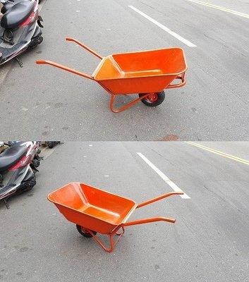 ㊣(專業手推車經銷商)㊣10英吋打氣輪烤漆水泥車/水泥車/手推車/獨輪車/單輪車