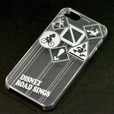 尼德斯Nydus~* 日本正版 Disney 迪士尼 透明系列 手機殼 保護殼 iphone5 5S 號誌款 PN-5213