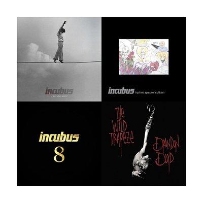 現貨 專輯 套售 全新未拆 Incubus 重擊合唱團 猶豫不決更待何時 搖滾極致現場演唱會 第8輯 布蘭登波德狂野鞦韆