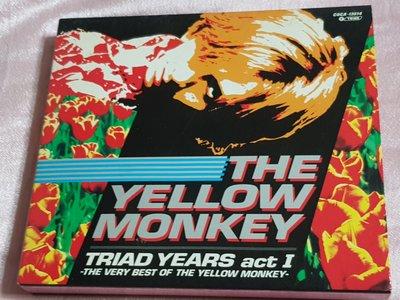 R日語(二手CD)THE YELLOW MONKEY~TRIAD YEARS act I~日本版~有外盒有~歌詞本~