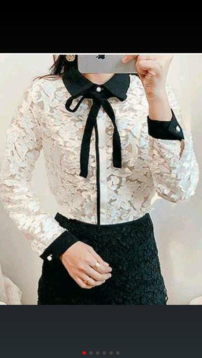 正韓東大門冬季預購款粉領族專案組長袖襯衫