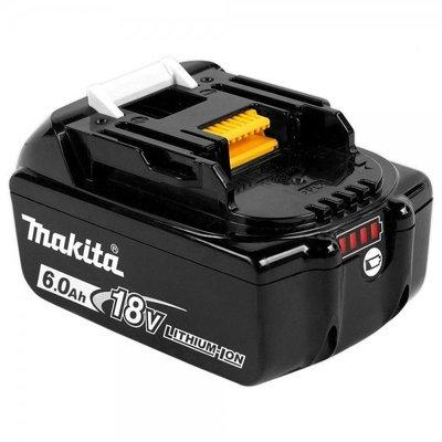 【欣瑋】 MAKITA 牧田 電池 原廠18V 6.0Ah滑軌式 電顯 保固充放電500次 BL1860B
