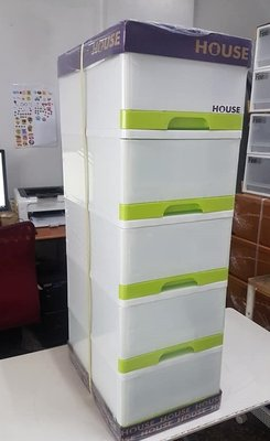 小毛收納館『HOUSE TWFMG05 采漾五層櫃』含稅開發票 大詠 收納箱 衣櫥 衣櫃 抽屜櫃 87.5L 台南市