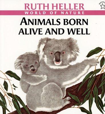 *小貝比的家*ANIMALS BORN ALIVE AND WELL/平裝/3~6歲/動物