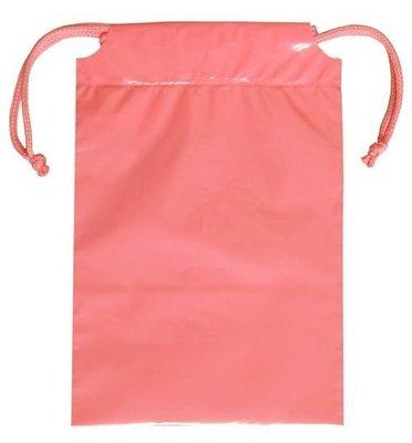 OBM包材館 - 束口雙拉 包裝袋 粉紅色 ❤(◕‿◕✿)