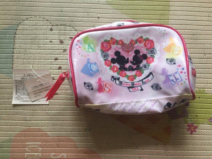 東京迪士尼米奇米妮愛心妝包