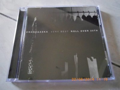 x日版CD-- 恰克與飛鳥 CHAGE and ASKA  VERY BEST ROLL OVER 20TH (2CD)