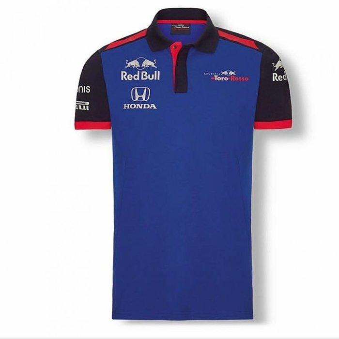 Toro Rosso紅牛二隊車隊Polo衫-2018最夯款式~最後一件優惠中!