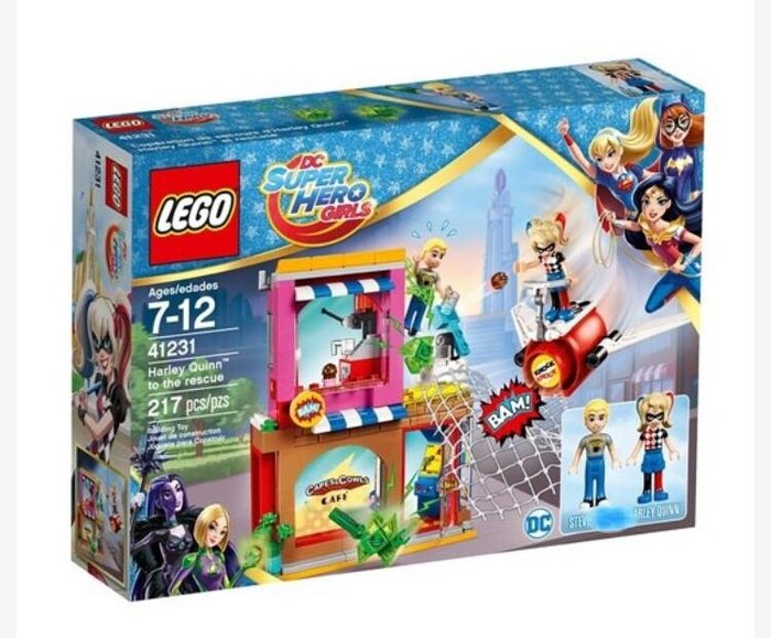 LEGO 樂高41231 DC Super  Hero Girls -Harley Quinn to the rescue