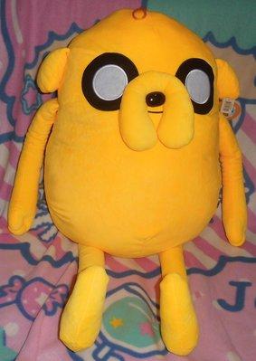 正版﹝CN卡通﹞授權 ※Adventure Time 探險活寶-老皮&阿寶 ※【老皮公仔-82公分】絨毛布偶