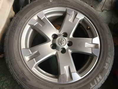豐田 RAV4原廠 5孔114.3 18吋鋁圈含輪胎 INNOVA 原廠